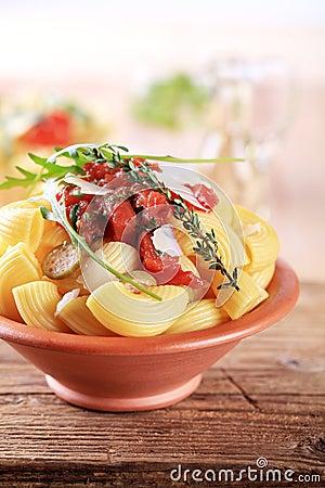 Free Pasta Salad Stock Photo - 17012840