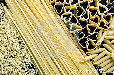 Pasta varied