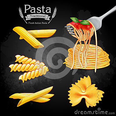 Free Pasta Vintage Traditional Stock Image - 54934421