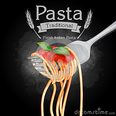 Free Pasta Vintage Traditional Black Royalty Free Stock Image - 54937226