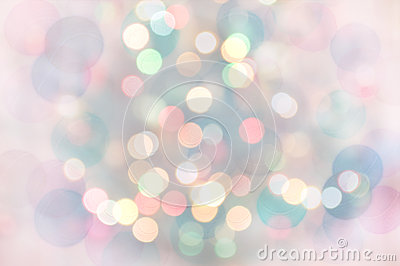 Pastel Bokeh Lights