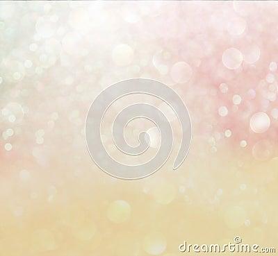 Pastel bokeh lights. defocused lights background
