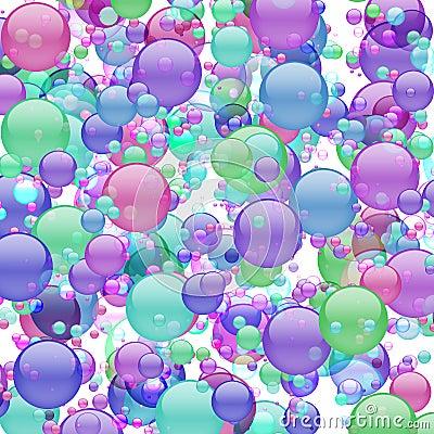 Pastel Bubble Explosion
