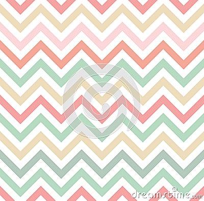 Free Pastel Colored Chevron Pattern Stock Image - 43609781