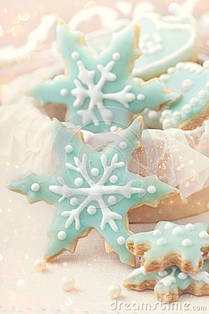 Pastel Colored Cookies Royalty Free Stock Image - Image: 27691196
