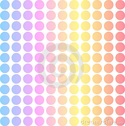 Pastel dot matrix background