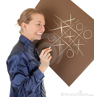 Pastel drawing on brown paper
