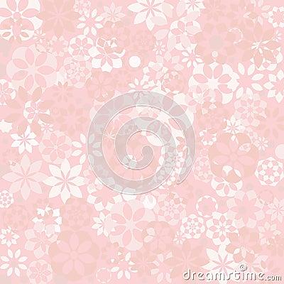 Pastel floral texture