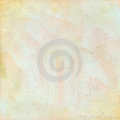 Pastel grungy spotted watercolor background