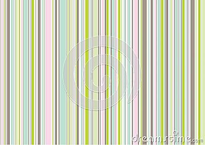 Pastel icing pink stripes
