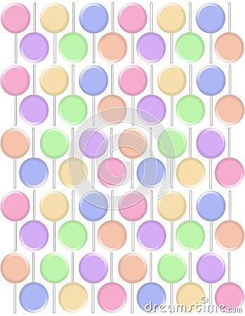 Pastel lollipops backgrounds