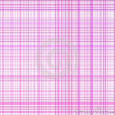 Pastel pink stripes plaid