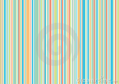 Pastel retro holiday stripes