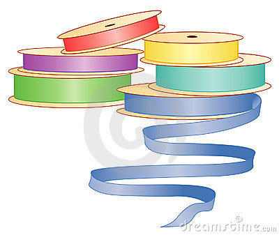 Pastel Satin Ribbons