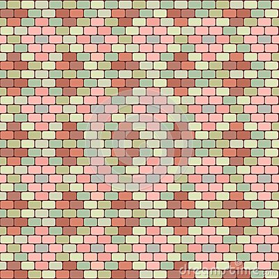 Pastel tile