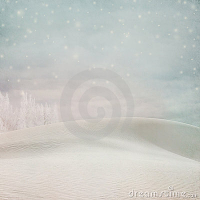 Free Pastel Winter Snow Background Stock Images - 21823194