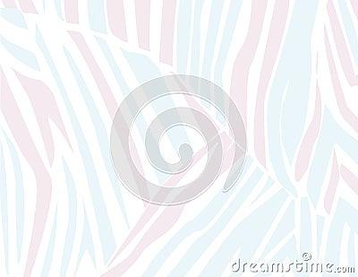 Pastel Zebra Stripes