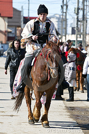 Pastele Cailor(Horses Easter) Festival Editorial Stock Image