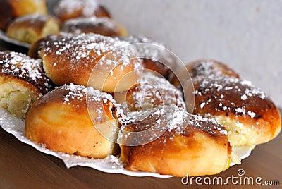 Pasteles hechos en casa