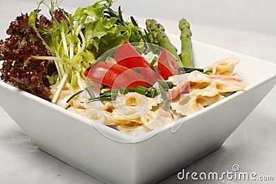 Pastes salad detail
