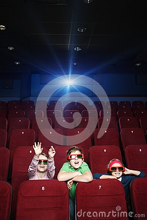 Free Pastime At The Cinema Stock Photography - 24716112