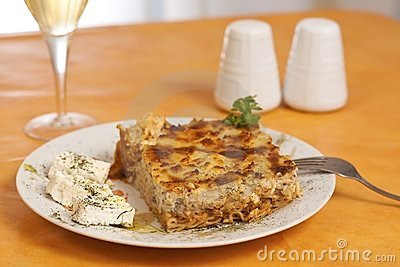 Pastitsio, greek food