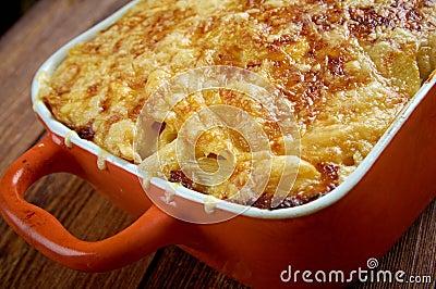Pastitsio - A Greek And Mediterranean Baked Pasta Stock Photo - Image ...