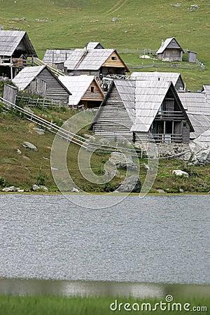 Pastoral village