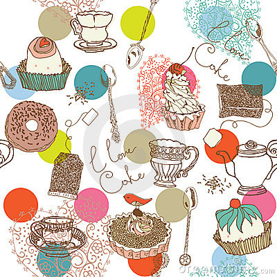 Pastry and Cake Background
