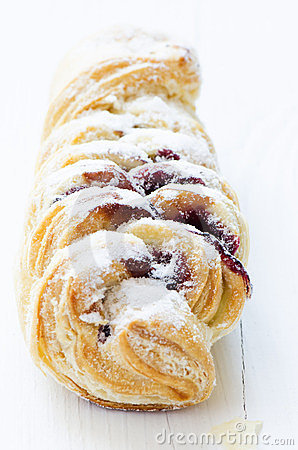 Pastry close up