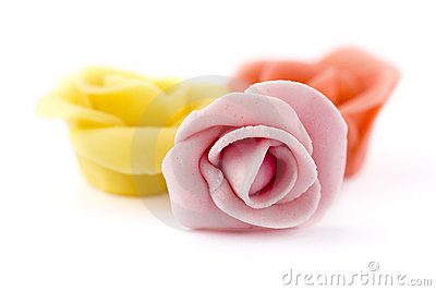 Pastry roses
