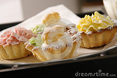 Pastry on table