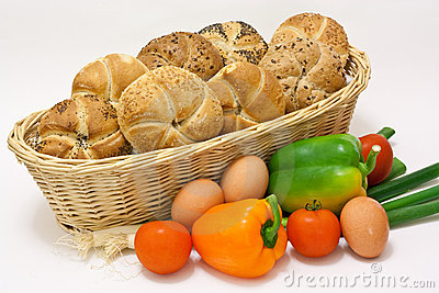 Pastry with vegetable