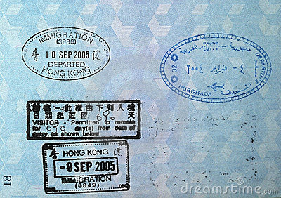Paszport ostemplowany wizy