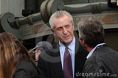 Pat Riley Editorial Stock Image