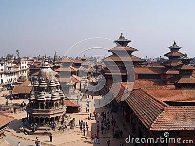 Непал patan Редакционное Фотография