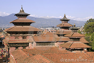 Patan In Nepal Royalty Free Stock Images - Image: 3102029