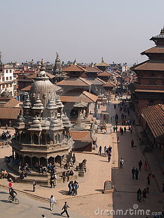 Patan, Nepal Editorial Stock Photo