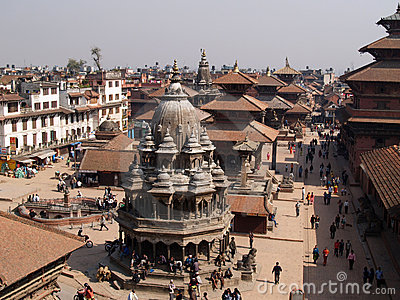Patan, Nepal Editorial Photography