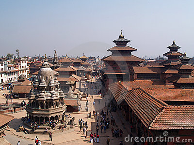 Patan, Nepal Editorial Photography