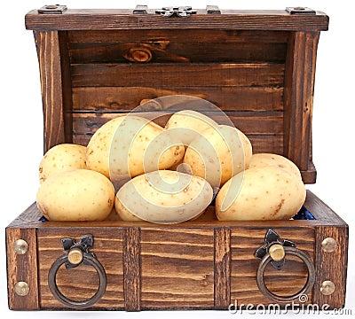 Patata - el tesoro y el dinero en circulación de Irlanda