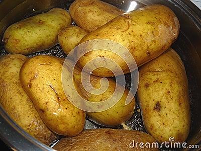 Patatas sin procesar