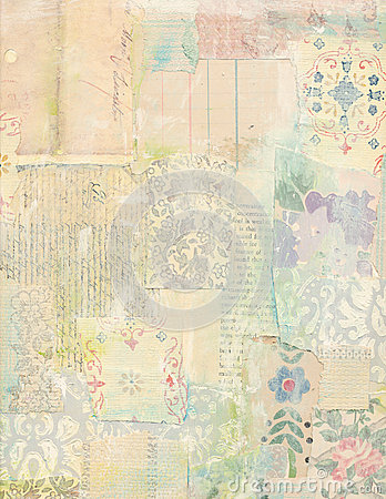 Free Patchwork Collage Of Vintage Papers Royalty Free Stock Photos - 37664998