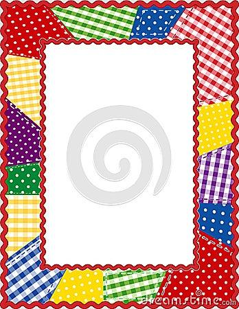 Patchwork Frame, Brights