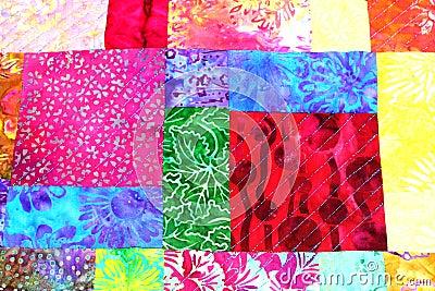 Patchwork quilt A