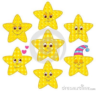 Patchwork stars