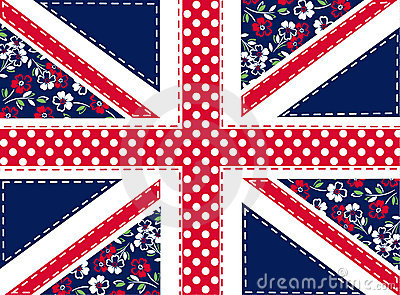 Patchwork union jack
