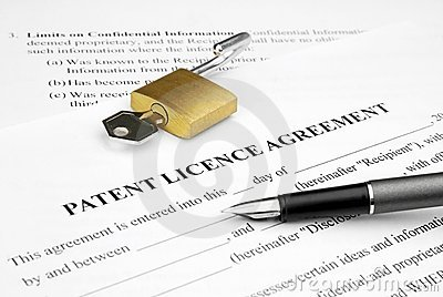 Patent licence agreement