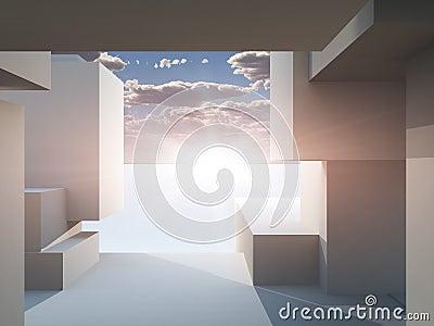 Path Frame Stage Horizon