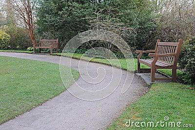Path in a Public Park